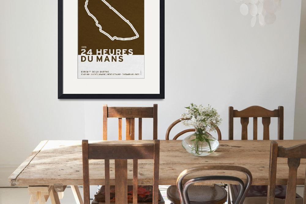 """Legendary Races - 1923 24 Heures du Mans&quot  by Chungkong"