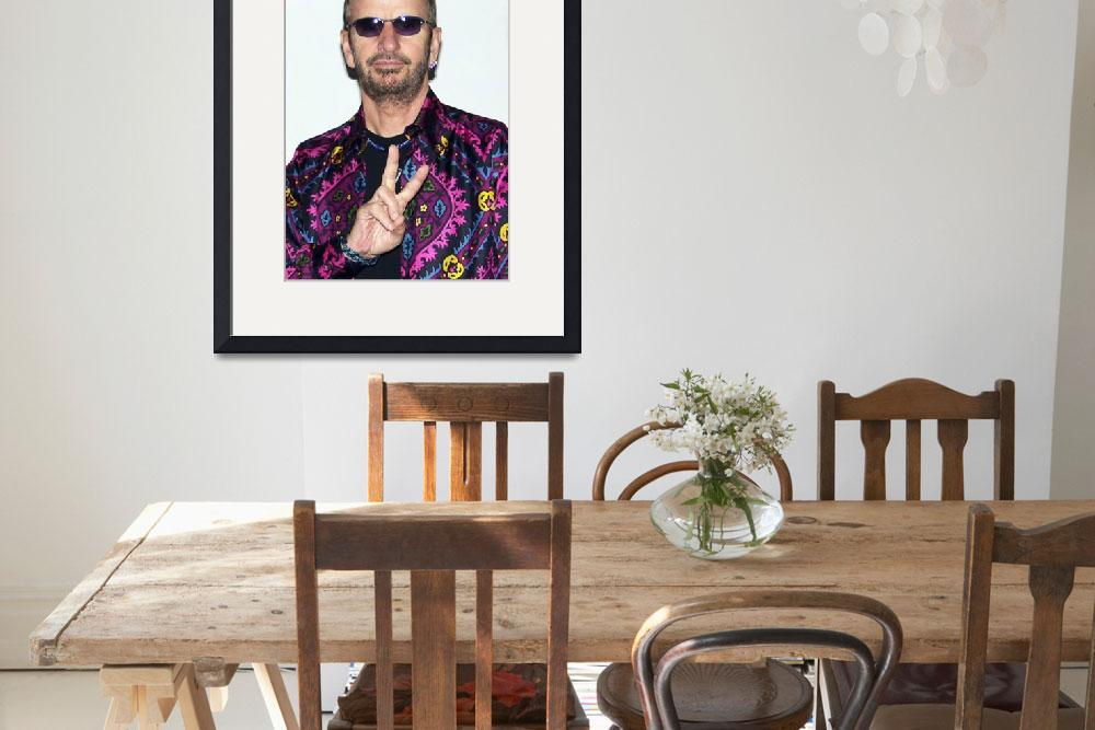 """Ringo Starr (Peace In Atlanta, 2003)&quot  (2003) by ChrisMcKay"