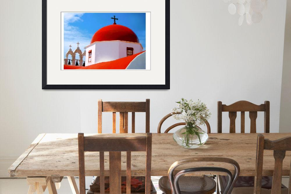 """EE-007 Red Dome Church&quot  by marywhitmer"