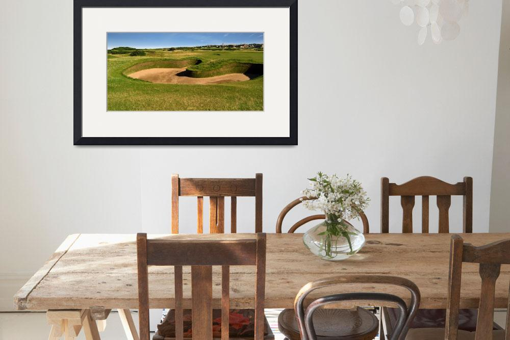 """St. Andrews Links Golf Course Hole Hell Bunker Wid&quot  (2004) by Richimage"