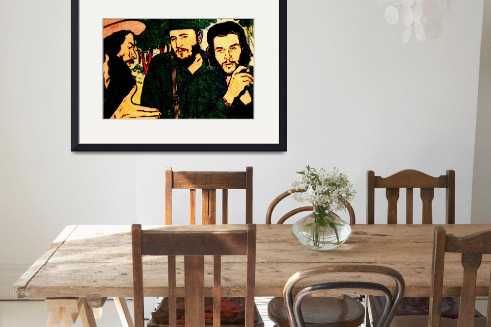 """Che and Fidel&quot  by Okalarts"