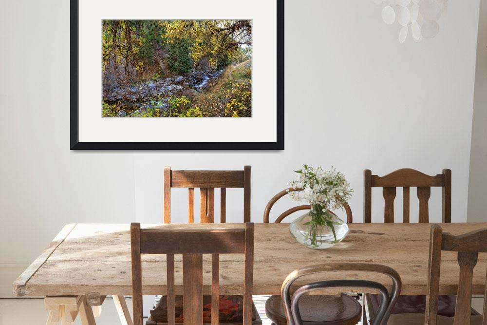"""Boulder Creek Autumn View&quot  (2015) by lightningman"