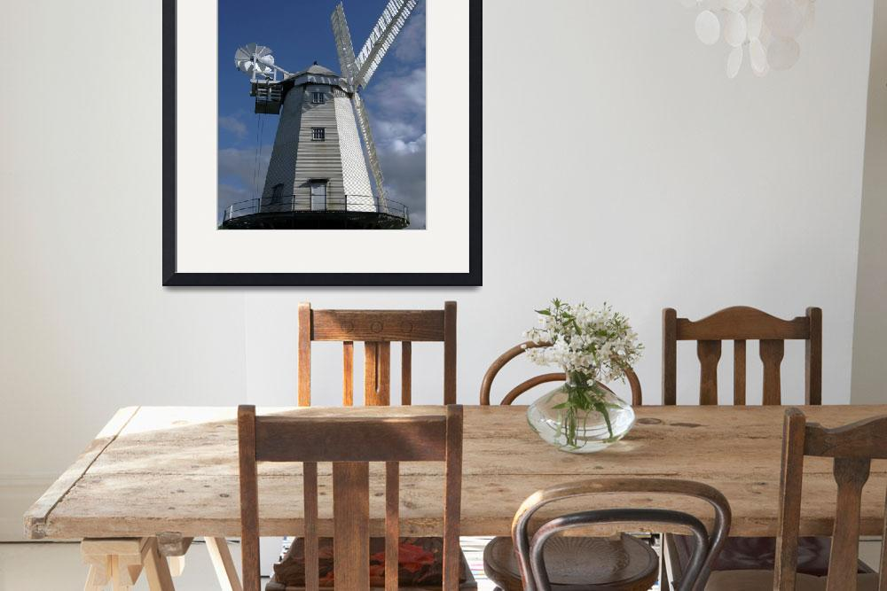 """Shipley Windmill&quot  (2009) by Paul_Rumsey"