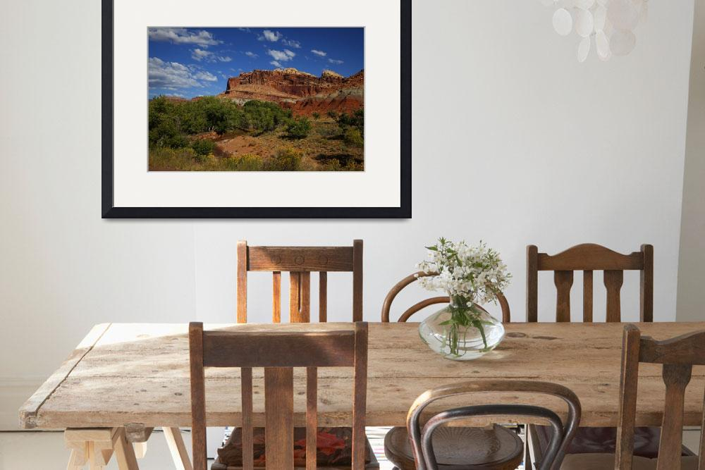 """Capitol Reef National Park&quot  by CanyonlandsPhotography"