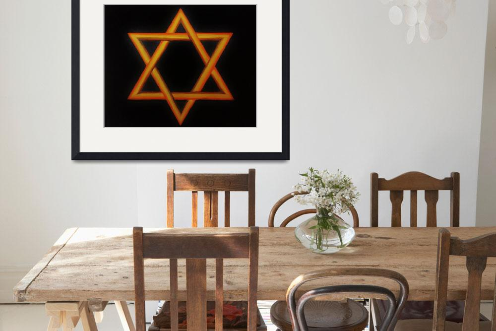 """Star Of David&quot  by CatWalker"