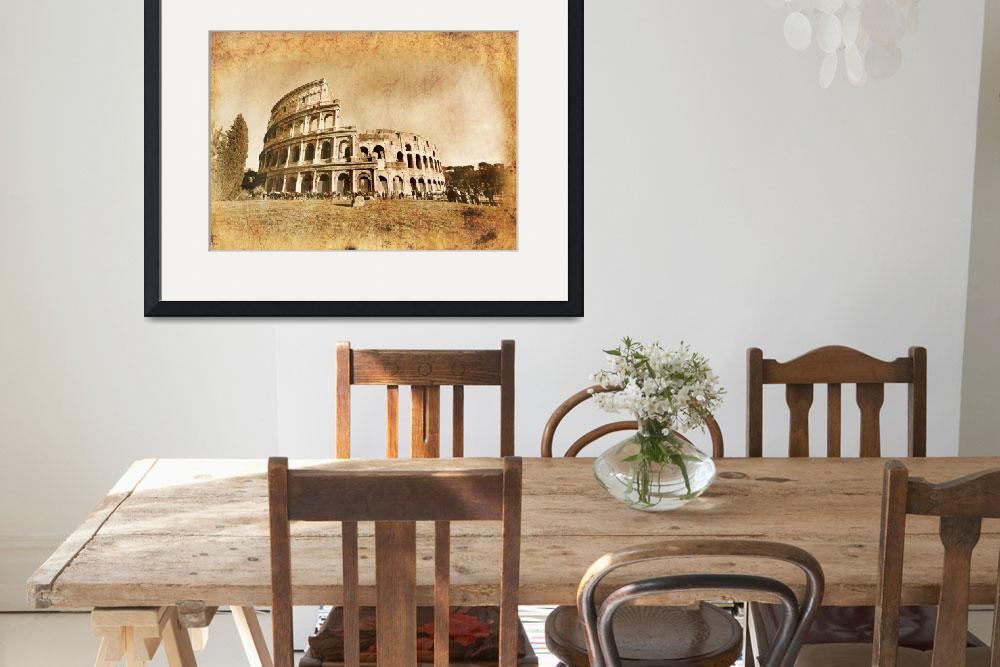 """Colosseum&quot  (2011) by MacXever"