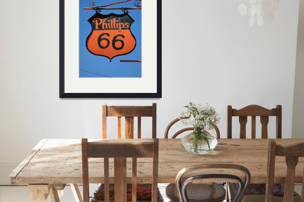 """Route 66 - Phillips 66 Petroleum&quot  (2012) by Ffooter"