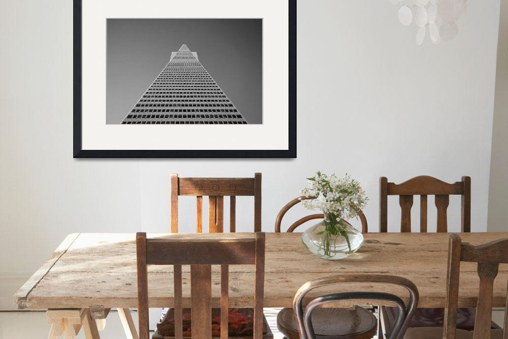 """Transamerica Pyramid&quot  (2008) by RossPhotoWorks"