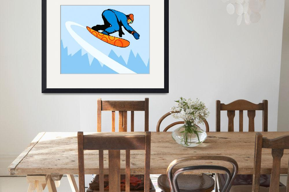 """Snowboarding on Air&quot  (2013) by patrimonio"
