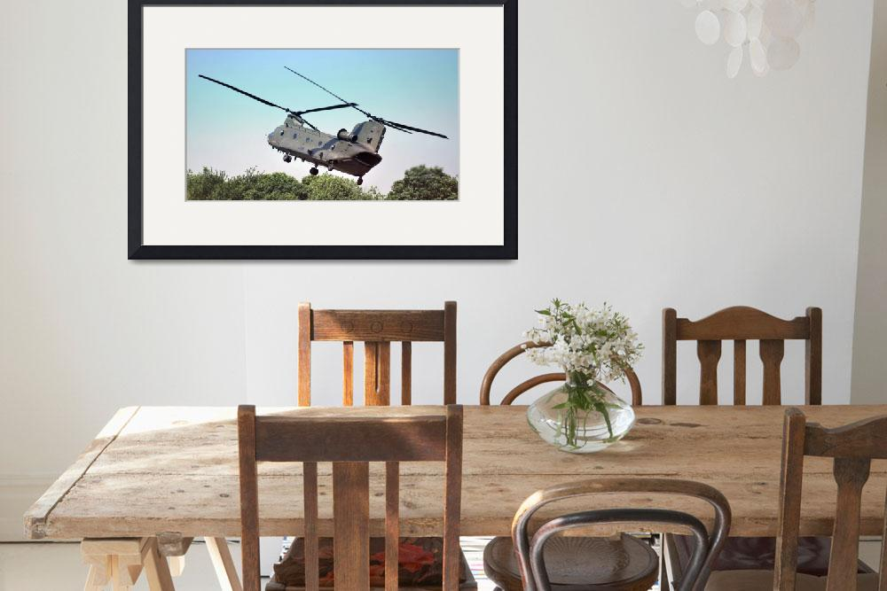 """RAF Chinook Helicopter&quot  (2010) by Paul_Rumsey"