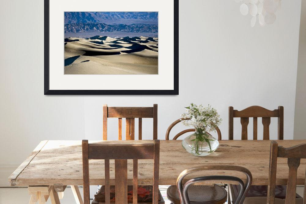 """Death Valley Sand Dunes&quot  (2008) by miir"
