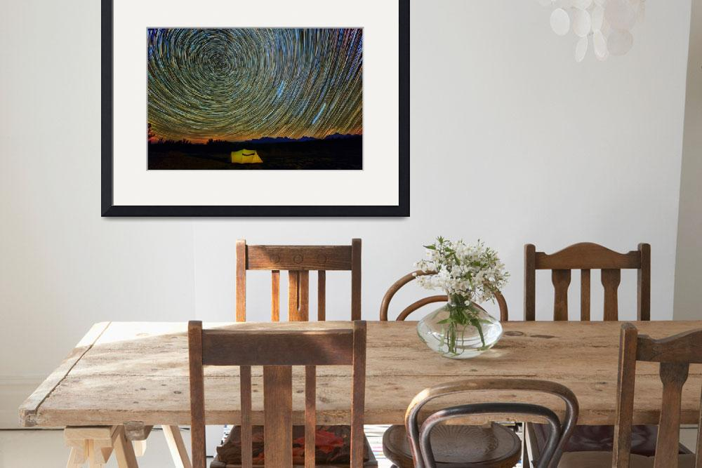 """C:\fakepath\Star Trails Print&quot  (2015) by GlennBarclay"