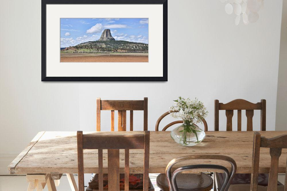 """A View Of Devils Tower&quot  (2011) by PaulCoco"
