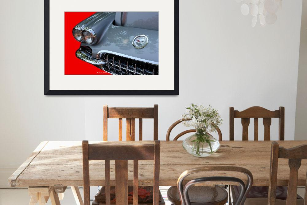 """1960 Corvette&quot  (2011) by bettynorthcutt"
