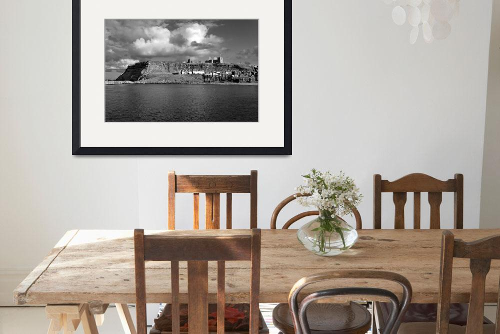 """The Imposing East Cliff, Whitby (36022-RDW)&quot  (2013) by rodjohnson"