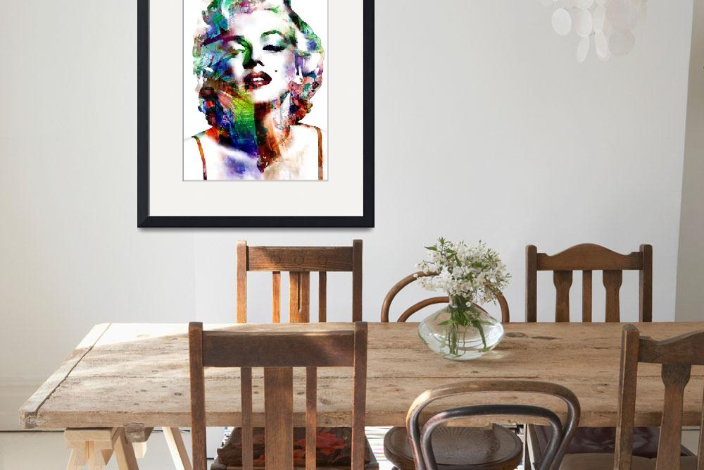 """Marilyn&quot  (2011) by ModernArtPrints"
