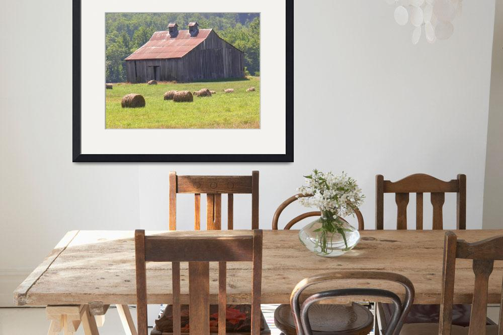 """A Farm Barn&quot  (2008) by SnapitNow"