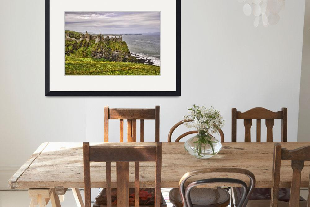 """Dunluce Castle&quot  (2012) by PaulCoco"