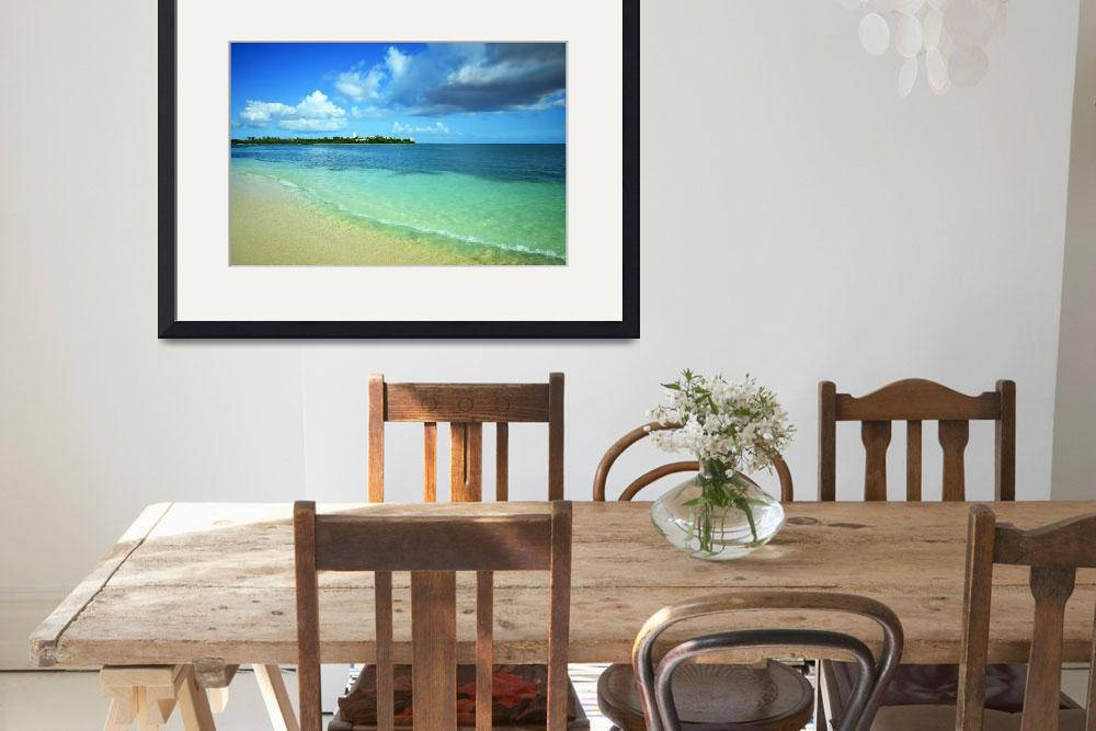 """Nettle Bay Beach St. Maarten&quot  (2015) by LukeMoore"