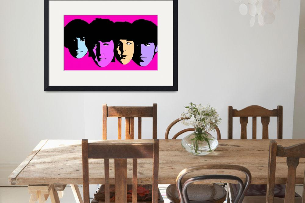 """Beatles&quot  (2009) by whitewallgallery"