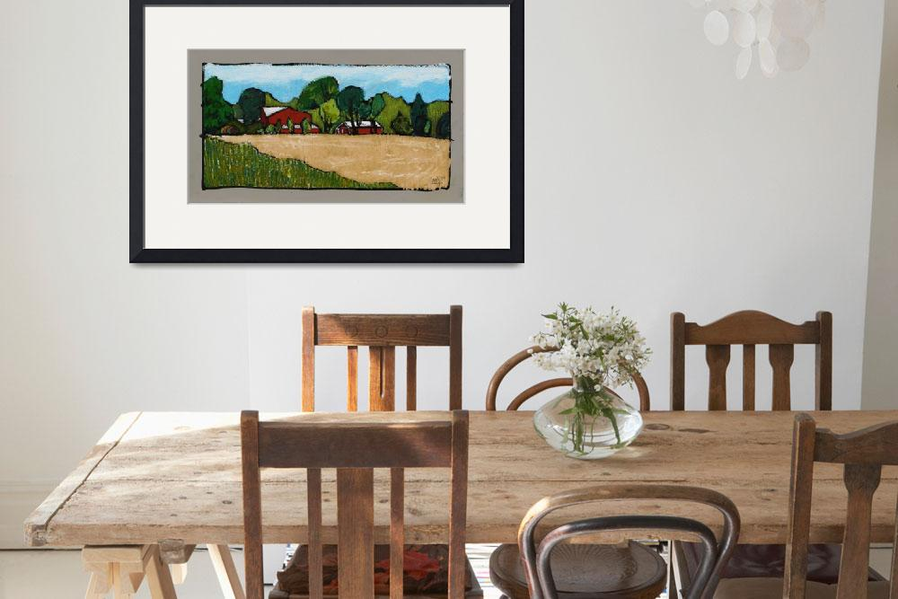"""Farm Property Doylestown&quot  (2008) by harryboardman"
