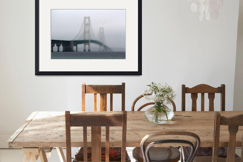 """Mackinac Through The Fog&quot  (2012) by Lorraine_Sommer"
