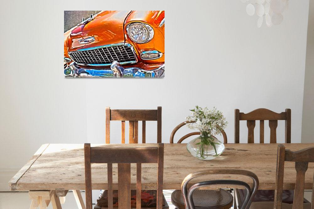 """1956 Chevy bel air&quot  (2015) by brianraggatt"