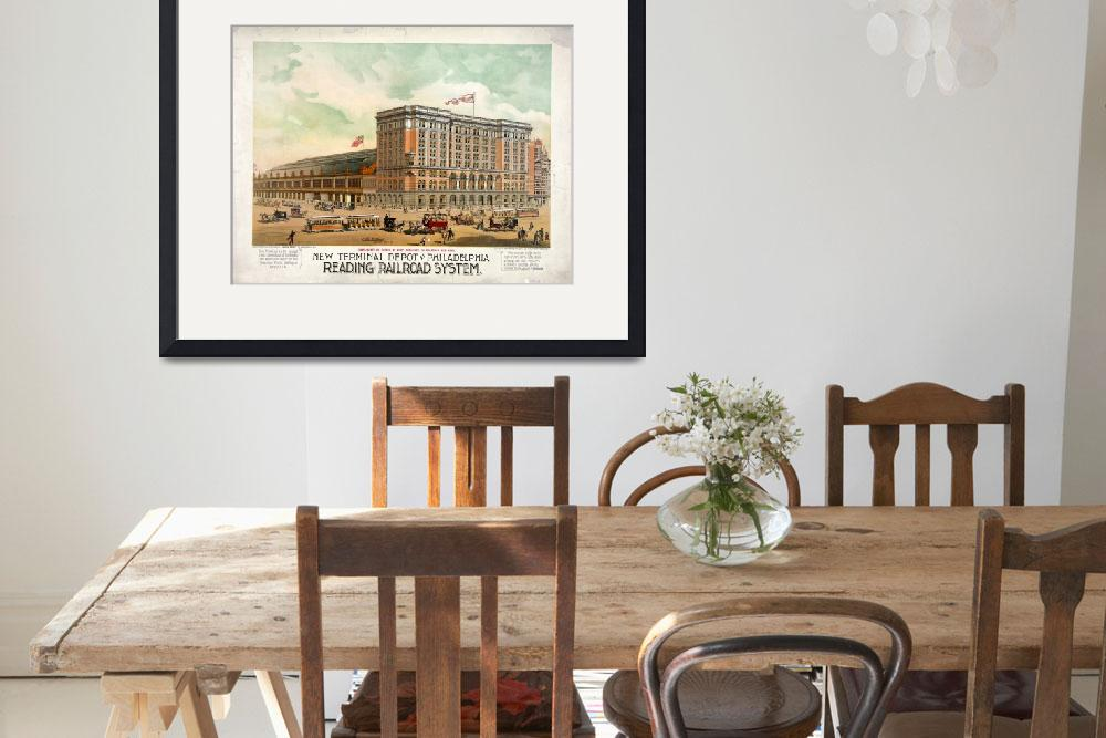 """READING TERMINAL PHILADELPHIA&quot  by homegear"