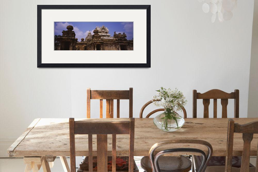 """Low angle view of a temple&quot  by Panoramic_Images"
