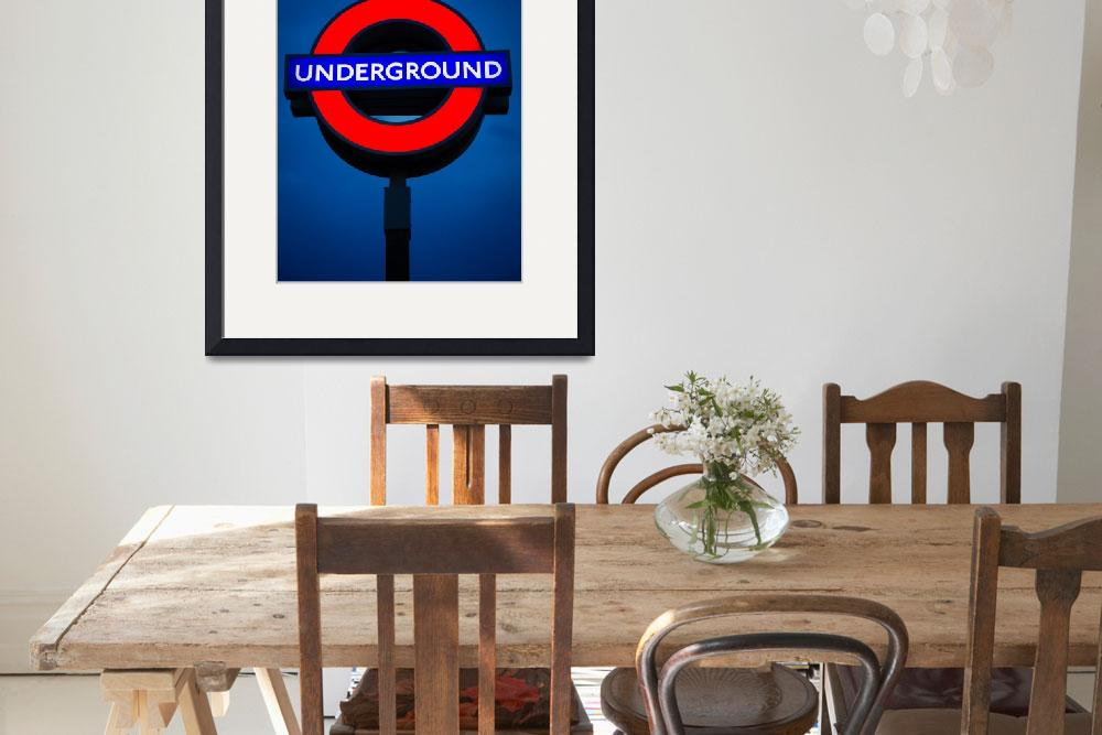 """Underground&quot  (2012) by Inge-Johnsson"