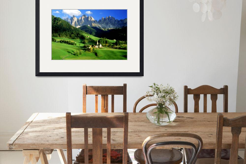 """Val Di Funes Dolomites&quot  (1998) by rdwittle"