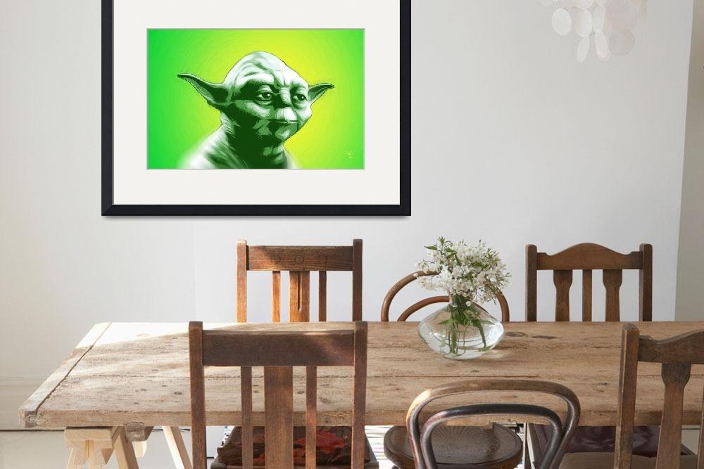 """Yoda - Star Wars - Pop Art&quot  (2016) by wcsmack"
