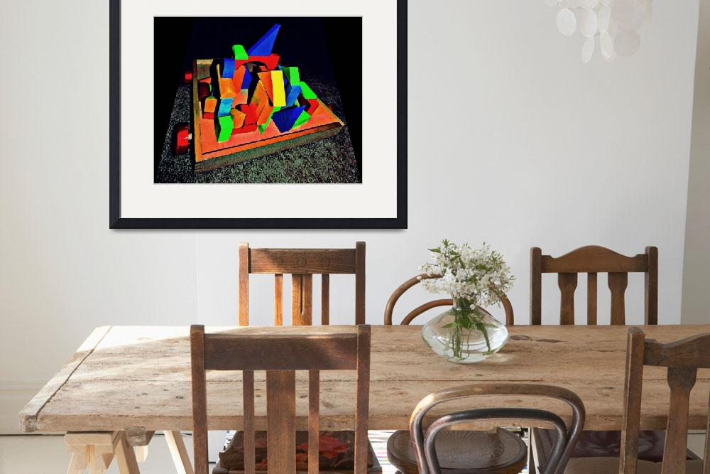 """Autism Creates:  Cubism&quot  (2011) by SVPhotoArt"