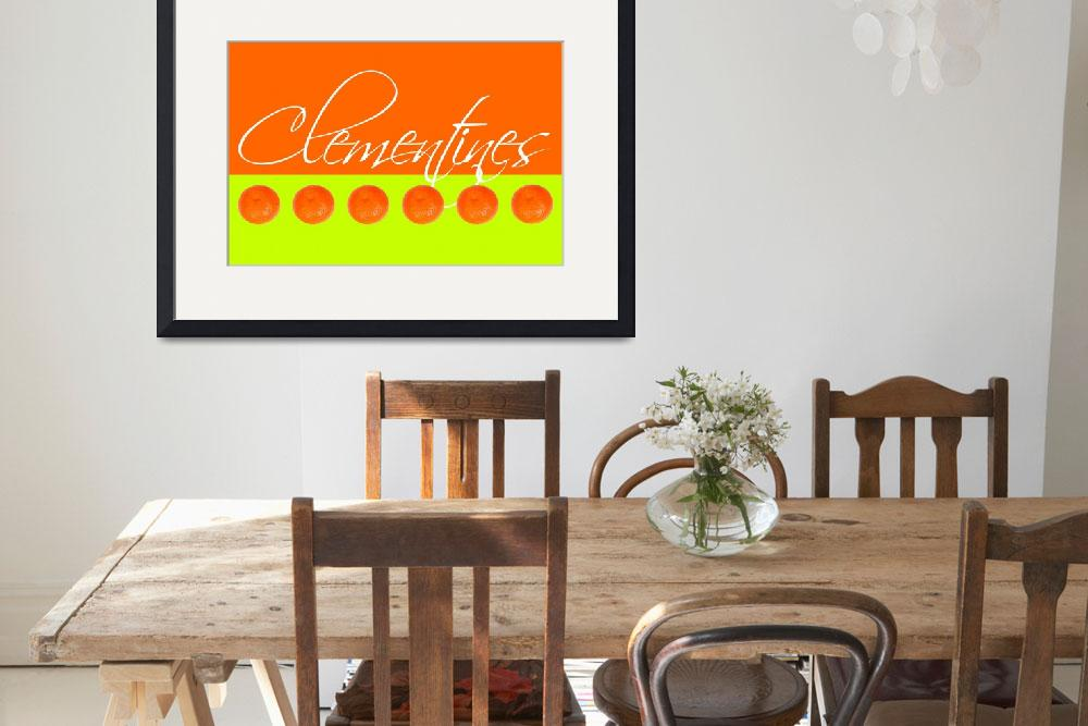 """Clementines&quot  (2012) by NatalieKinnear"