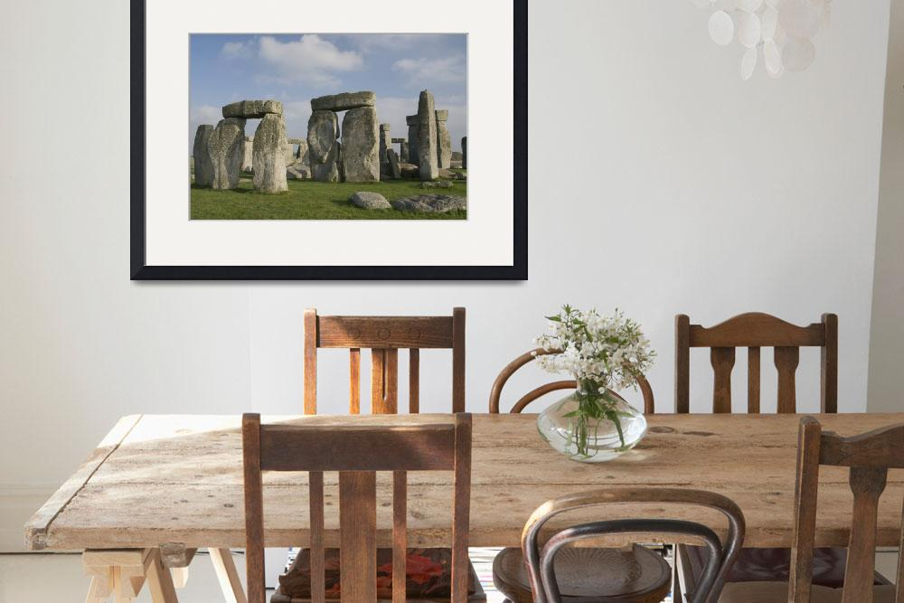 """United Kingdom, England, The infamous Stonehenge s&quot  by DesignPics"