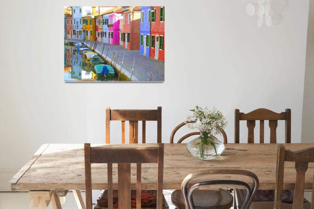 """Burano Venice&quot  by rdwittle"