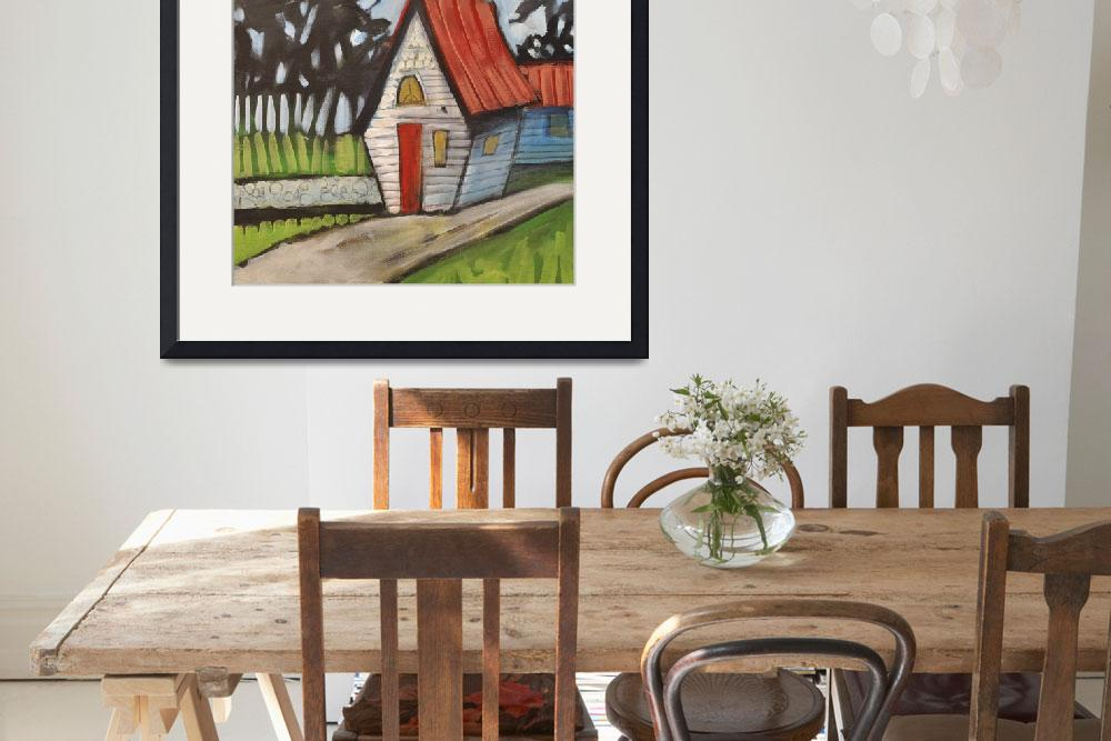 """Stonewall Cottage&quot  by artlicensing"