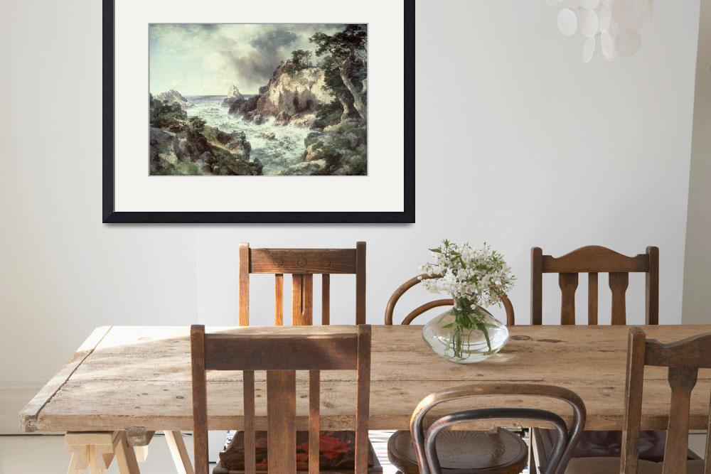 """Point Lobos, Monterey, California by Thomas Moran&quot  by fineartmasters"