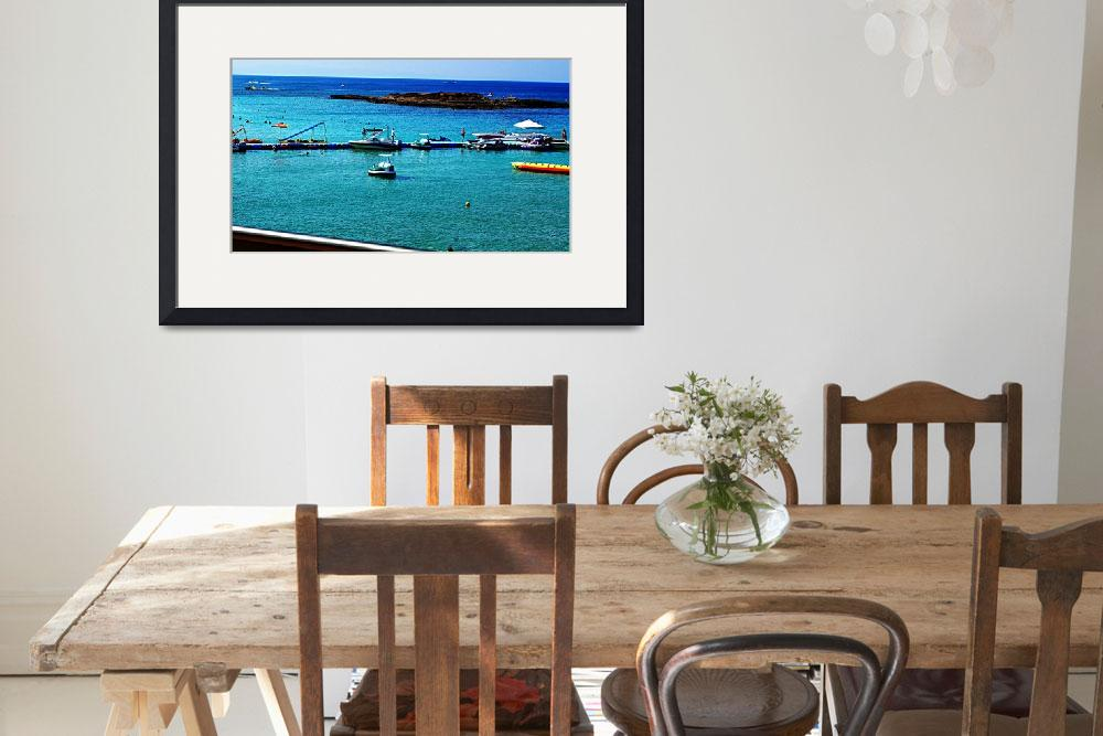 """Fig Tree Bay Leisure Activities, Cyprus&quot  by Artsart"