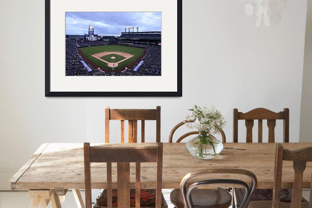 """Coors Field&quot  by christiancarollo"