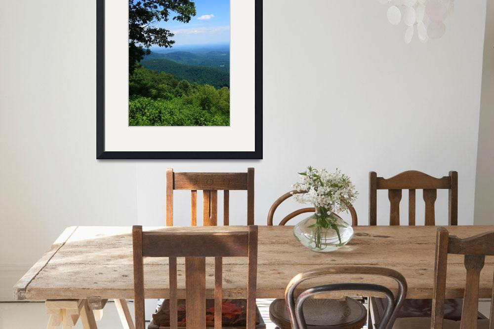 """Blue Ridge Mountains - Virginia&quot  (2009) by Ffooter"