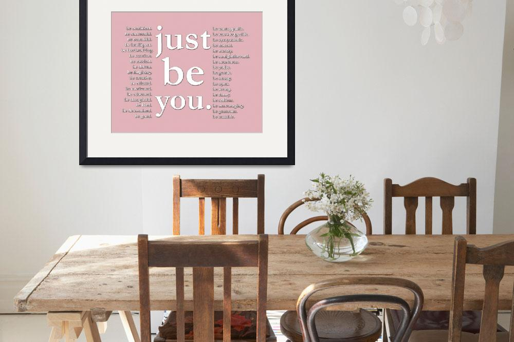 """just be you (pink)&quot  (2011) by Happinessinyourlife"