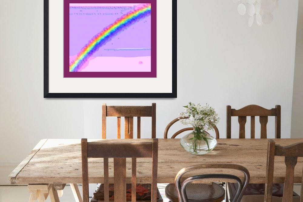 """Rainbow with border&quot  (2013) by TheNorthernTerritory"
