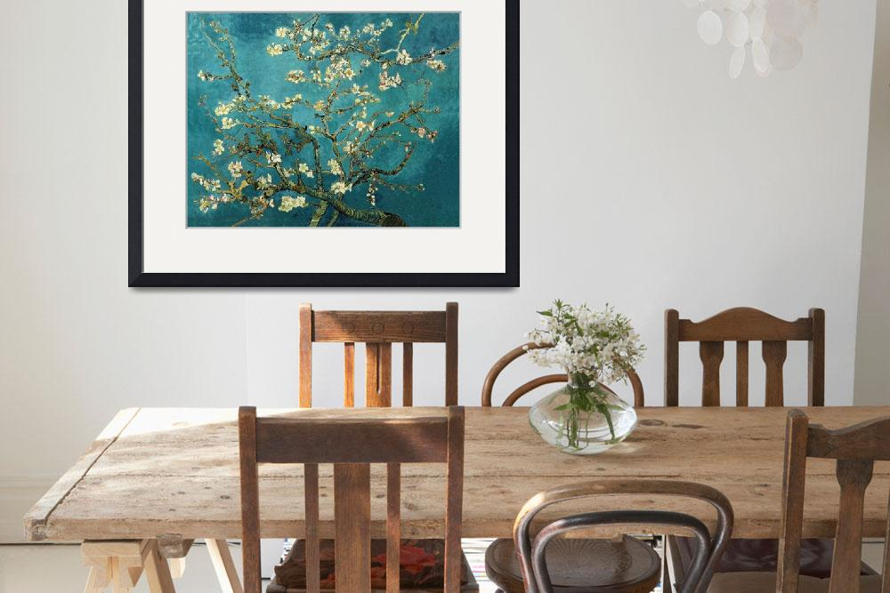 """Vincent van Gogh - Blossoming Almond Tree&quot  by masterpiecesofart"