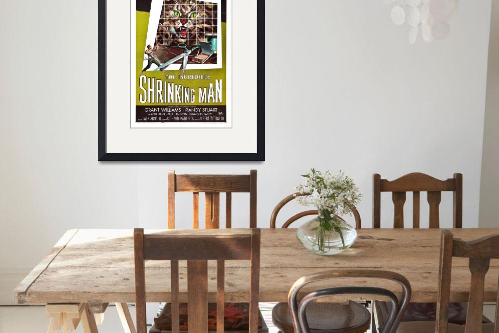 """The Incredible Shrinking Man Movie Poster&quot  by Alleycatshirts"