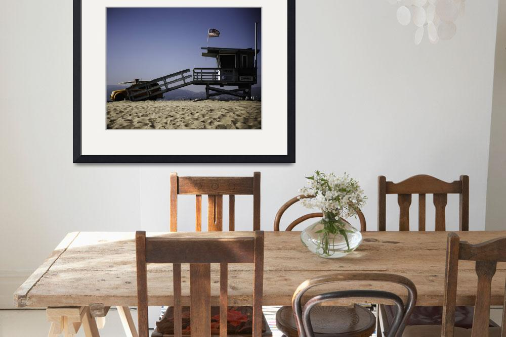 """Venice Beach Lifeguard Station&quot  by johncorney"