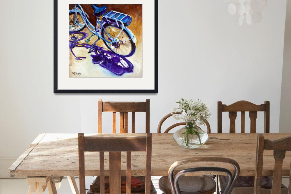 """THE CRUISER a Beloved Bike&quot  (2015) by MBaldwinFineArt2006"