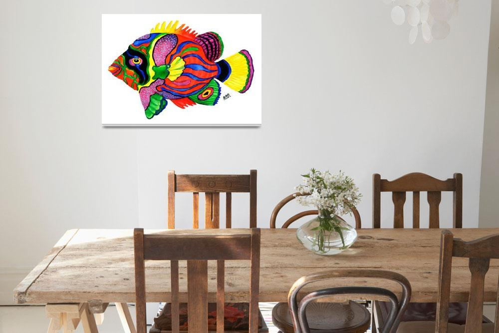 """Tropical Fish&quot  (2008) by ARTbyBARstudio"