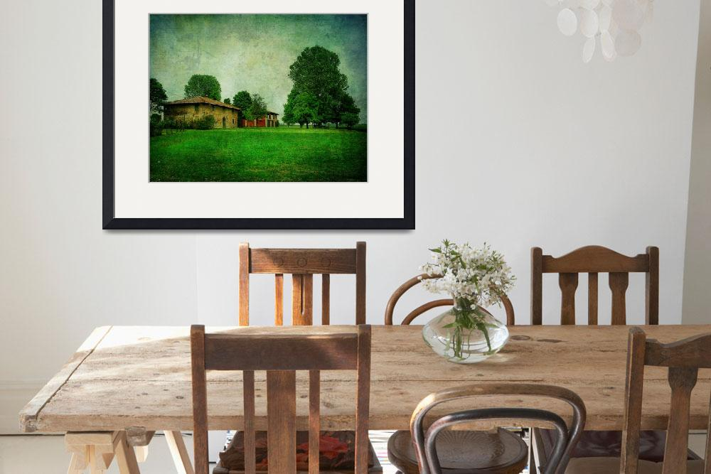 """country house and big tree&quot  (2011) by phototarget"