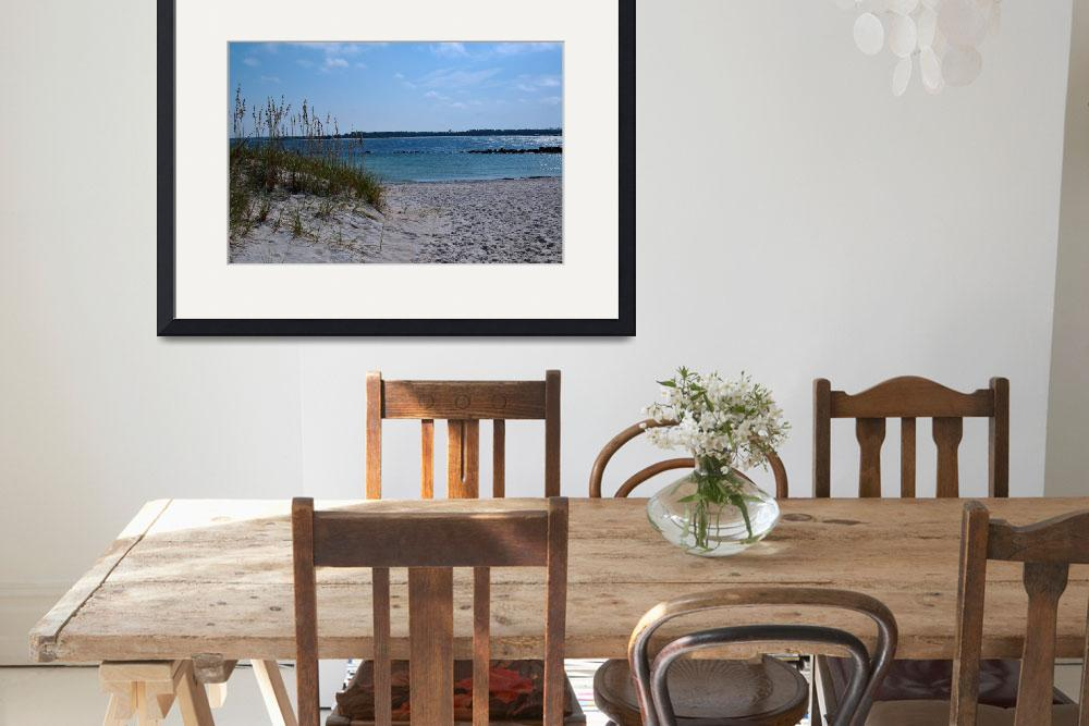 """Sea Oats on Saint Andrews Bay&quot  (2008) by SonLight"